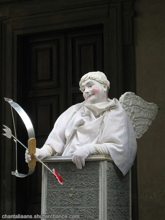 photoblog image Cupid hit me