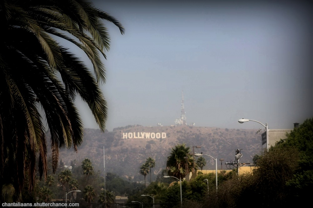 photoblog image Smoggy Hollywood
