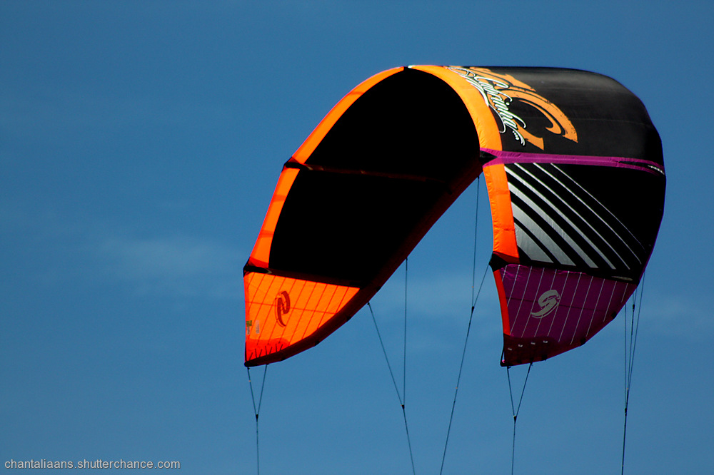 photoblog image Kite surfer