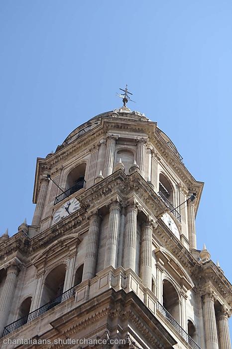 photoblog image Malaga cathedral 3/4