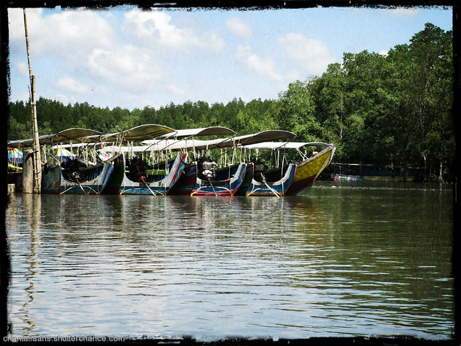 photoblog image Taxi boat line up